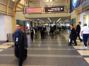 AIrport security at DCA