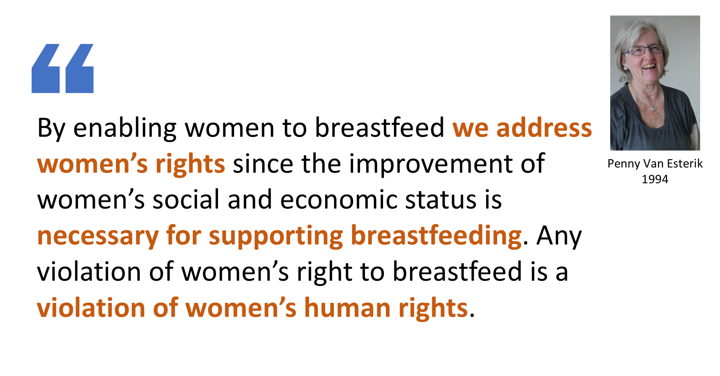 Breastfeeding Advocacy And Women S Rights Breastfeeding Medicine