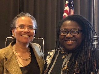 Dr. Camara Jones and Jamaica Gilliam